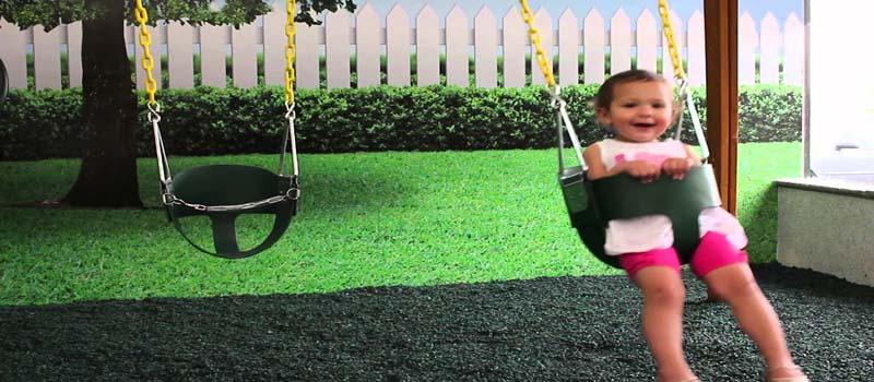 Out door baby swing